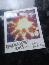 Parklife Festival Flyer The Parklife Weekender 2013 Pre Promo Flyer