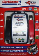 Cargador de baterias optimate 1 duo inteligente carga STD AGM gel litio