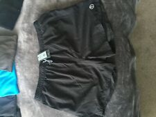 Mens Shorts Black with an Elasticated Drawstring Waist Size XL Extra Large