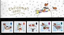 Grade Gem Mint Never Hinged/MNH Seasonal, Christmas Great Britain Stamp Presentation Packs