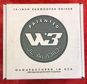"New JL AUDIO 10W3v3  Subwoofer SVC 4-ohm 10"" Subs 10W3v3-4 Sub 1,000W"