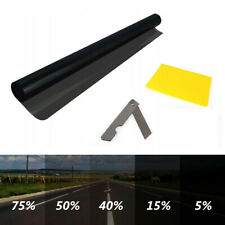 BLACK 40% LVT CAR WINDOW TINT 6M x 75CM FILM TINTING NEW