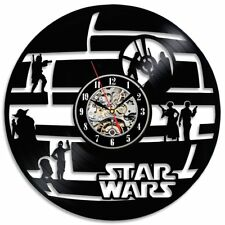 Star Wars Wall Clock Living Room Decoration Vinyl Clocks Wall Watch Home Decor
