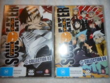 SOUL EATER COLLECTIONS 3 AND 4 DVD SETS