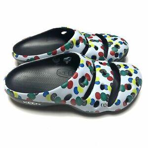 Keen Yogui Arts Sync Dots Clog Outdoor Men's Slip On Sandals 1022265 All Sz New
