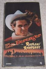 Rustlers' Rhapsody VHS Video Tom Berenger