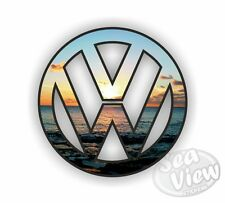 Vw Volkswagen logotipo Sunset coche van Bug Sticker Decal
