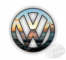 Vw Volkswagen logotipo Sunset coche van Bug Sticker Decal