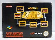 ARCADE`S GREATEST HITS ATARI COLLECTION 1 - SNES SUPER NINTENDO PAL BOXED