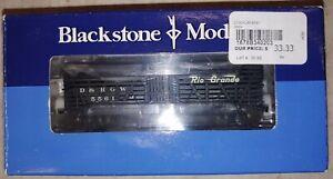 Blackstone Models B340203 HOn3 Scale D&RGW 30 Ft. Stockcar #5561. NIB (15i)