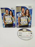 Biggest Loser Challenge (Nintendo Wii, 2010) Complete with Manual Tested