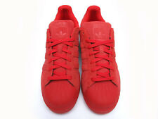 Adidas Red Suade Superstar Mens 12 Shoes brand new s79475
