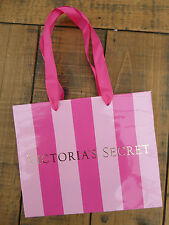 "Victoria's Secret Rosa a Righe Carta morbida Mini Sacchetto 7.5"" x 6.25"""