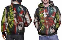 Jack Skellington The Nightmare Before Christmas Zipper Hoodie for Men