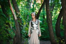 Medieval Warrior Lady Upper Body Suit Of Armor Larp Cosplay Costume