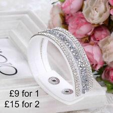 Statement Crystal Adjustable Costume Bracelets