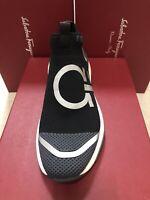 NIB Salvatore Ferragamo Tonino Gancini Knit Sneakers 7