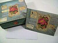PUNCH STUDIO Carte Postale 10 Note Cards & Envelopes New