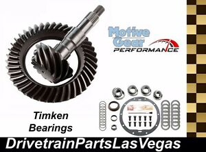 Motive Performance GM Chevy 8.6 3.42 Ring Pinion Gears Timken Master Kit 00- 08