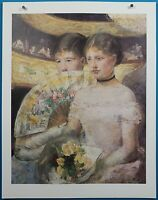 "Mary Cassatt ""The Loge"" Print in 50 French Impressionist Masterpieces"