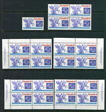 MNH 8c & 15c UPU Blocks, Singles & Plate Block Sets #648, 649 (Lot #RN143)