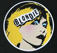 Blondie PVC Sticker Luggage Laptop Guitar Case Punk Debbie Harry