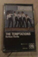 The Temptations Surface Thrills Cassette SEALED