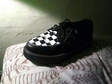 checkered creepers women's size 9 worn once, comes with box
