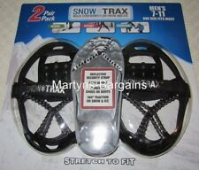 2 Pairs Snow Trax.Ice/Snow Grips for Men Shoe Size 7-11