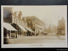 Surrey WALTON ON THAMES High Street shows CHAS WOODS Grocery Store - Old RP PC