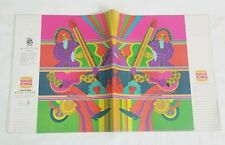Lot of 12 Burger King Psychedelic Rock Art School Daze Book Cover Peter Max 70's