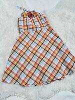 Gymboree Party Plaid Black w//Silver Dot Formal Dress Size 12-18-24 Mos 3T NEW