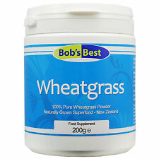 Wheatgrass - 200g - Natural Superfood from Bob's Best Natural Health Range