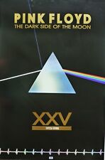 "PINK FLOYD ""25th ANNIVERSARY -THE DARK SIDE OF MOON"" U.S. PROMO POSTER FROM 1998"