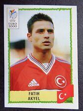 ☆ Panini Euro 2000 - Turkey / Türkiye Fatih Akyel #146