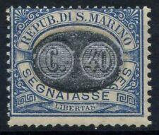 San Marino 1931 Sass. 41 Nuovo ** 100% Segnatasse francobolli numeri a causa