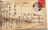 Genealogy Postcard - Batchelor - St Mary's Mansions - Paddington - London - 92B