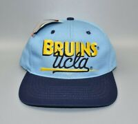 UCLA Bruins NCAA Twins Enterprise Vintage 90's Snapback Cap Hat - NWT