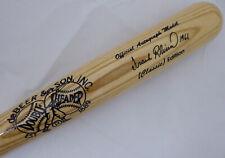 "Frank Robinson Autographed DeBeer & Son Bat Reds, Orioles ""1966"" Beckett S04205"