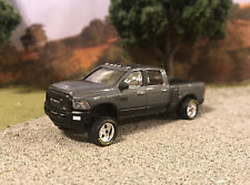 2018 Dodge Ram 2500 1/64 Custom Diecast Carolina Squat Tilted Lean 4x4 Truck