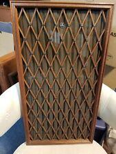 Pioneer CS 88A Speaker Grill Covers Pair Solid Wood  (used)