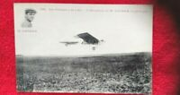 1900's Aviation early flight airplane postcard Antoinette company Hubert Latham