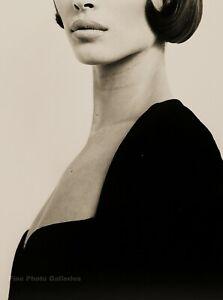 1991 HERB RITTS Versace Female Fashion CHRISTY TURLINGTON Model Photo Art 11x14