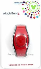 NEW 2018 Disney Parks RED Magic Band 2 Link It Later MagicBand 2.0 Linkable