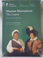 Great Courses -Museum Masterpieces: The Louvre,Richard Bretell,book,new dvd set