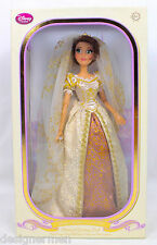 "New Disney Limited Edition 17"" Rapunzel Wedding Doll 1 of 8000"