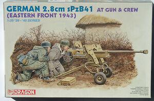 Dragon 1/35 6056 German 2.8cm sPzB41 Anti-Tank Gun & Crew Eastern Front 1943