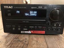 Teac Cd Receiver CR-H255 HiFi Mini Receiver MP3 Recording USB DAB mit Boxen