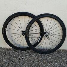 Conquer All Track Bike Wheelset 700cc Fixed Single Speed w/ Continental Tires