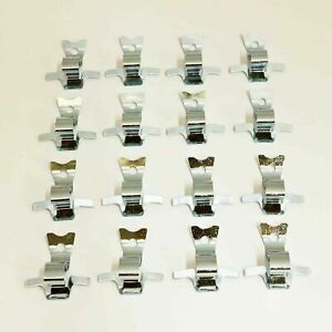 Mercedes Hubcap Clips, Set of 16 New OE Early W107 W108 W109 W111 W113 W114 W123